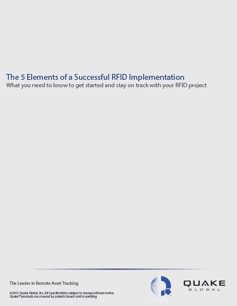 Elements to successful RFID Implementation