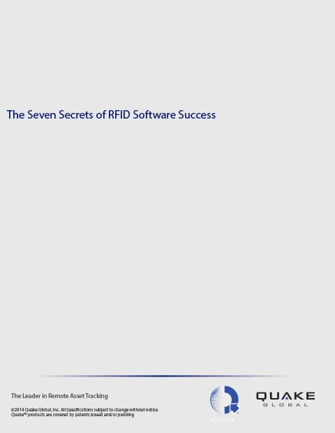 The Seven Secrets to RFID Software Sucess